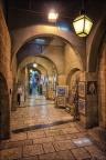 Jerusalem-Altstadt-Gasse-1 -- Israel und Jordanien