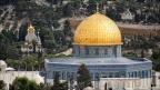 Jerusalem-von-oben-Felsendom -- Israel und Jordanien