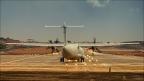 Eilat-Flughafen-Flugzeug-2 -- Israel und Jordanien
