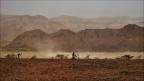 Timna-Park-Sandsturm-Windhose -- Israel und Jordanien