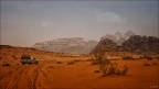 Wadi-Rum-Auto-Wueste -- Israel und Jordanien