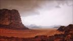 Wadi-Rum-Tal-Sandstrum -- Israel und Jordanien