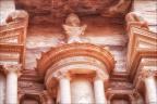 Petra-Schatzhaus-Detail -- Israel und Jordanien