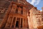 Petra-Schatzhaus-WW-schraeg -- Israel und Jordanien