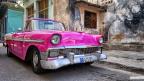 Pink Cadillac in Havanna - Kuba