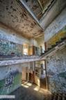 Heilstätte Grabowsee - Treppenhaus erster Stock