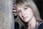 Nicole im Kanzelgang