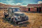 Ghosttown Bodie - car - auto