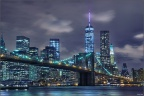 Skyline Manhattan by night