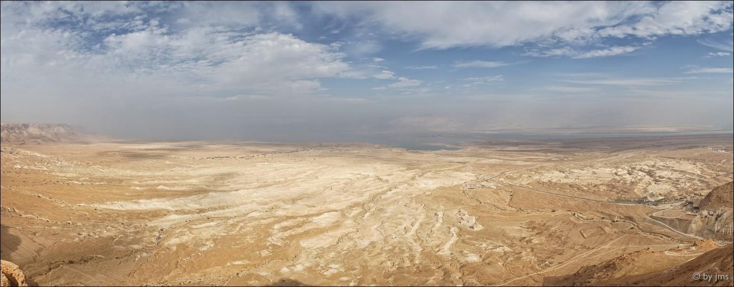 Masada Wüste, Israel