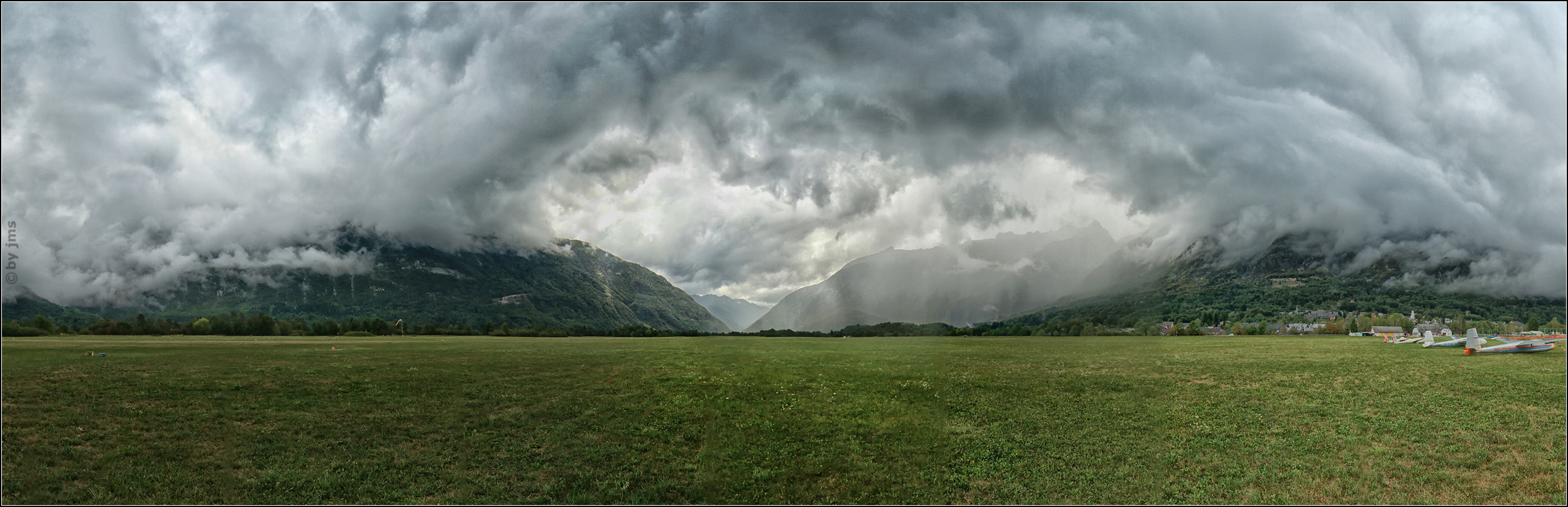 Panorama Gewitter