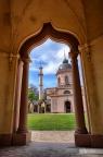 Rote Moschee im Schlossgarten Schwetzingen